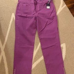 NYDJ Purple Jeans